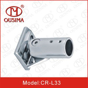 Stainless Steel Glass Door Accessory Bar Connector