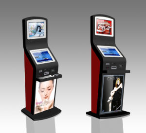 Coin Operated Mobile Charging Kiosk Slim Touch Screen Kiosk Dual Screen Kiosk pictures & photos