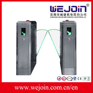 Classical Type Flap Barrier Gate Used in Subway Station/Office Building for Pedestrian Passageway pictures & photos