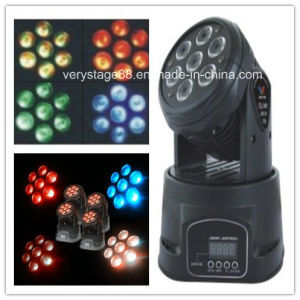 Mini LED7*12W RGBWA 5 in 1 Moving Wash Light (ML0710-II) pictures & photos