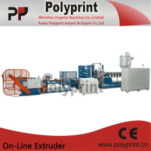Egg Tray PP Sheet Extrusion Line (PPSJ-100-80-45B) pictures & photos