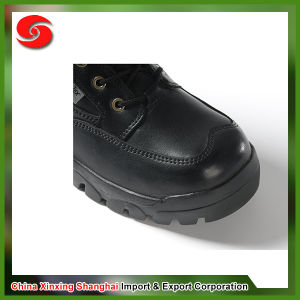 Lower Price Genuine Leather Anti-Oil Breathable Lining Military Boots Prices pictures & photos