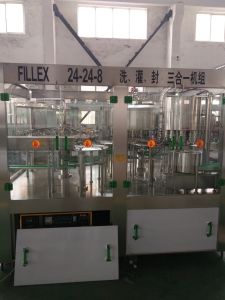 Cgf24-24-8 Monoblock Pet Bottle Juice Filling Machine