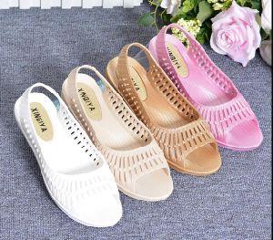 a11fa4a9721aa3 Women Beach Sandal Wholesale Beach Slipper Latest Design Jelly Woman Flat  Sandals