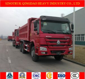 Sinotruk HOWO 6X4 Dump Truck and Dumper Truck with 30 Tons
