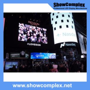 Outdoor Full Color LED Video Screen for Advertisement with High Brightness (pH10 960mm*960mm)