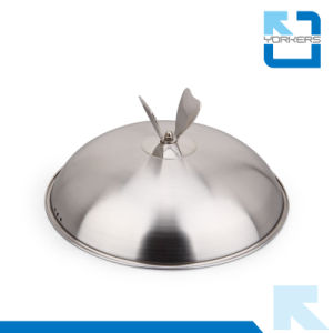 26cm SGS High Quality Stainless Steel Metal Pot Stockpot Cookware pictures & photos
