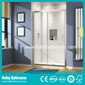 Excellent Rectangle Shower Sliding Cabin with Aluminium Alloy Frame (SE909C)