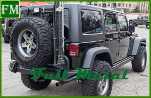 Jeep Wrangler Jk Ave Bumper With Spare Tire Rack Parts ...