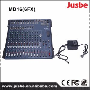 MD-16/6fx Professional Audio System 16-Channel DJ Player Mixer pictures & photos