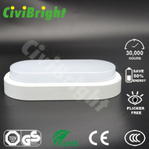 IP64 12W LED Oval Damp-Proof Bulkhead Lamp pictures & photos