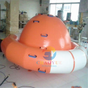 0.9mm PVC Inflatable Saturn Water Game for Water Park