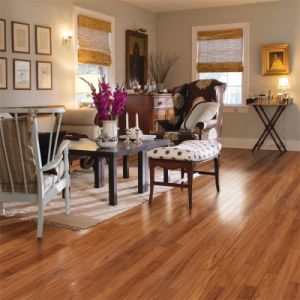 12.3mm U-Groove Laminate Flooring pictures & photos