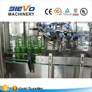 Automatic 3 in 1 Beer Bottling Equipment for Small Glass Bottle and Crown Cap pictures & photos