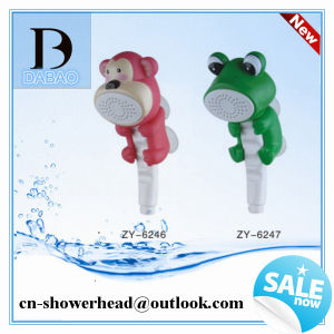 Attractive Baby Shower Bathroom, Children Shower Head And Colorful Animal Shower Head  For For Kids