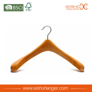 Eisho 2017 New Competitive Price Beech Wooden Hanger pictures & photos
