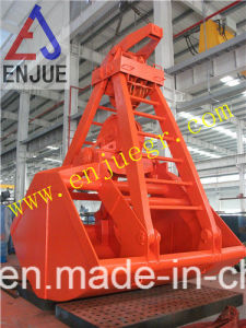 Four Rope Double Scoop Grab mechanical Clamshell Grab Bucket pictures & photos