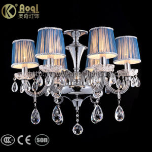 China Blue Fabric Cover Chandelier Lights - China Chandelier ...