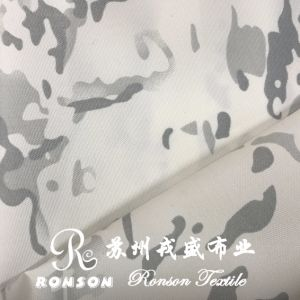 Multicam White Snow Camouflage Cordura Oxford Fabric pictures & photos