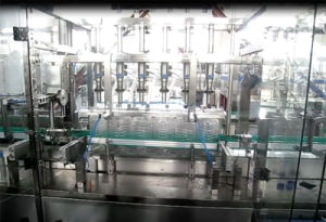 Linear Type Water Washing Filling Capping Machine for 5liters Bottle pictures & photos