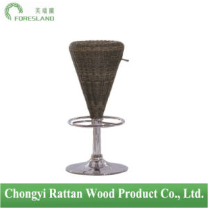 PE Rattan Bar Chair Counter Stool PS-05