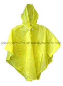 100% PVC Adult′s Waterproof Workwear Work Clothes Poncho (RWC01)