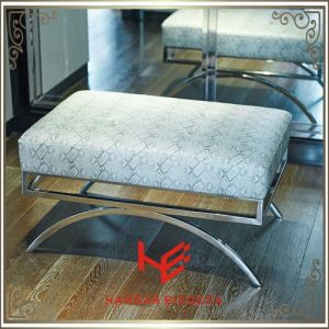 Living Room Stool (RS161804) Stool Bar Stool Cushion Outdoor Furniture Hotel Stool Store Stool Shop Stool Restaurant Furniture Stainless Steel Furniture
