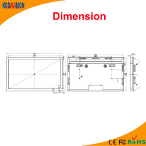42 Inch 1080P LCD CCTV Monitor pictures & photos