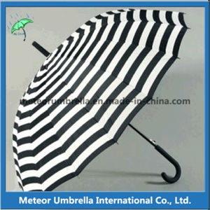 Fancy Fashion Promotion Gift Straight Automatic Open Rain Umbrella