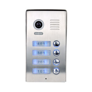 4 Wires Video Intercom Villa System (Out door station PL980C4(4)) pictures & photos