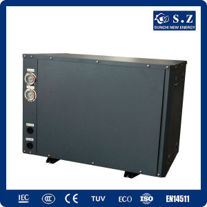 Floor Heat 10kw/15kw Geothermal Ground Source Inverter Heat Pump Water Heater pictures & photos