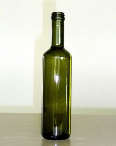 500ml Dark Green Olive Oil Bottles in Round Shape pictures & photos