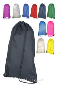 Nylon Drawstring Bag (hbdr-62) pictures & photos