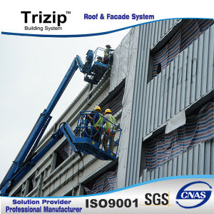 Trizip 65-400 Standing Seam Roofing Sheet (Approved by FM) pictures & photos