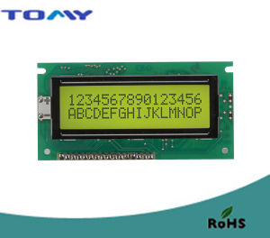 16X2 Character LCD Module with Y/G Backlight
