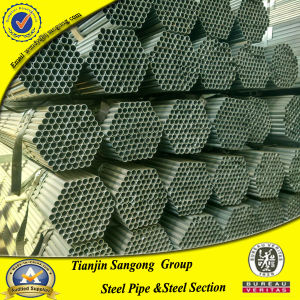 1/2  Sch 40 Galvanzied Steel Pipe From China for Building Material & 1/2