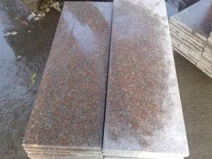 Bullnose Edge Granite Stair Step Outdoor Granite Stairs