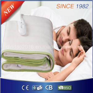 220-240V 100% Polyester Electric Heating Blanket for Bed Warmer pictures & photos
