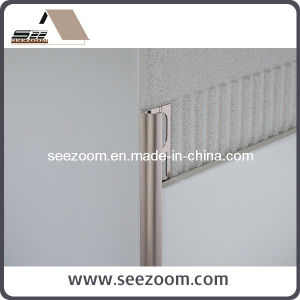 Straight Aluminum Ceramic Tile Trim