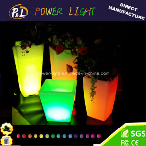 Patio Lamp Garden LED Square Flower Pot pictures & photos