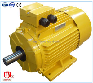 IE2 High Efficiency Three Phase Electric Motor (Black, Aluminum) pictures & photos