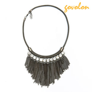 New Fashion Alloy Necklace with Strass Decorated pictures & photos