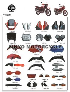 Hot Sell Motorcycle Ybr125 Body Parts for Honda pictures & photos
