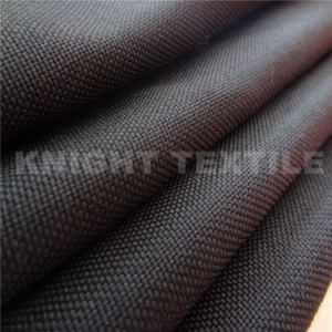 1000d Nylon 66 Oxford Fabric in Black for Military Using (KNCOR1000-20)