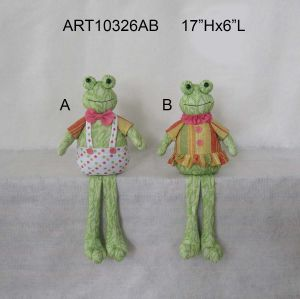 Boy & Girl Frog Home Decoration Gift Easter pictures & photos