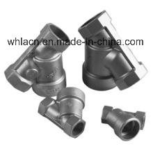 Sanitary Stainless Steel Pneumatic Angle Seat Valve (Precision Casting) pictures & photos