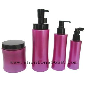 Cosmetic Plastic Shampoo Bottles with Lotion Pumps