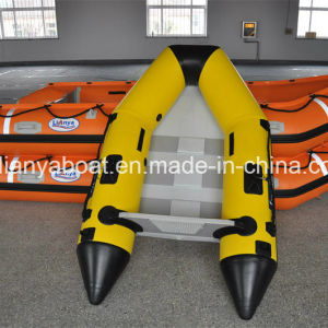 Liya 2-6.5m Inflatable Dinghy PVC Folding Boat Small Rubber Boat pictures & photos