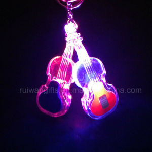 Wholesale Guitar Ledlight Torch Keychain (LKC002) pictures & photos