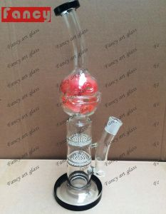 China New Design Glass Water Pipe for Smoking pictures & photos